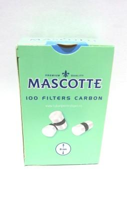 Filtre MASCOTTE REGULAR CU CARBON pentru rulat tutun