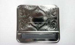 Aparat METALIC AUTOMAT pentru RULAT tutun Strong Box cu tabachera inclusa
