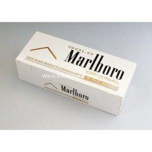 Tuburi MARLBORO GOLD ORIGINAL pentru injectat tutun