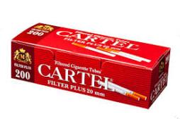 Tuburi tigari CARTEL 200 cu filtru de 20 mm