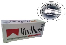 Tuburi Marlboro red cu carbon activ - Marlboro Multifiletr