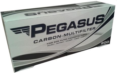 filtre tigari pegasus albe cu carbon activ