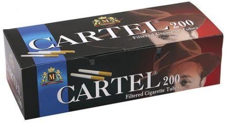Tuburi tigari CARTEL 200 pentru injectat tutun ieftine