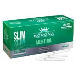 Tuburi Korona slim menthol 250