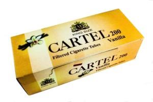 Tuburi tigari CARTEL cu aroma vanilie