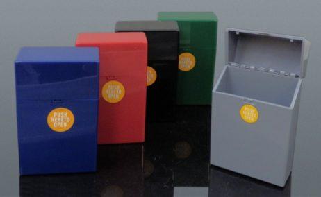 tabachera colorata plastic