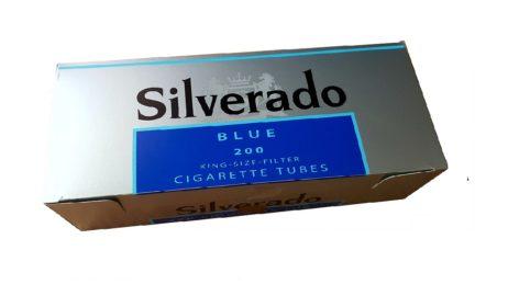 tuburi pentru facut tigari Silverado albastru