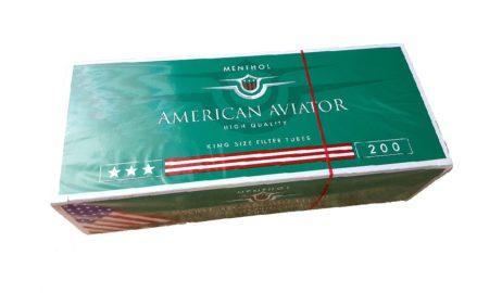 tuburi tigari mentolate american aviator