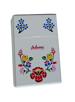 tabachera plastic cu model floral