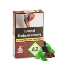 tutun aroma ciocolata cu menta